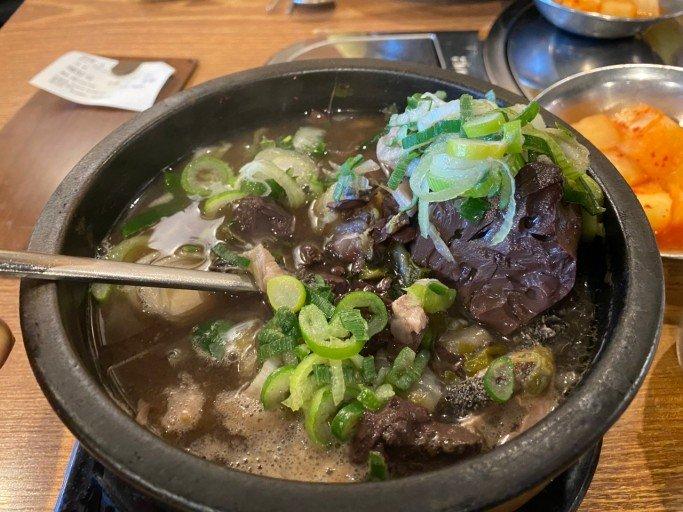 korean food- haejangguk