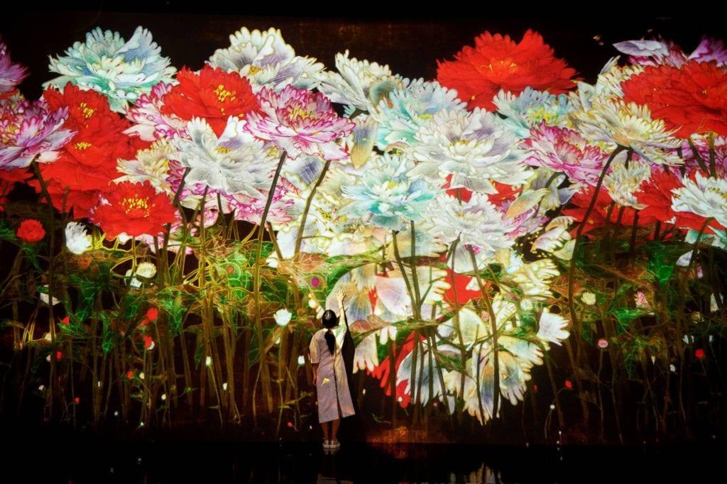 Korean media art exhibition