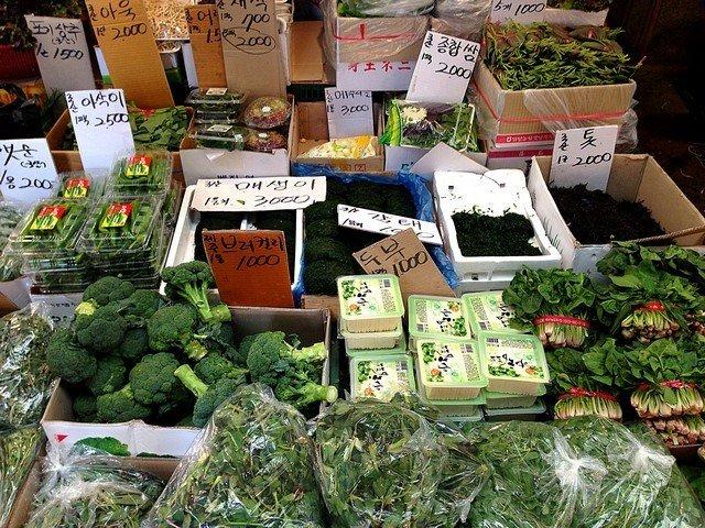 mangwon market korea