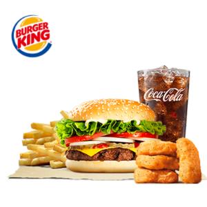 food delivery- burgerking set