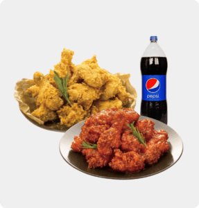 food delivery-chicken set