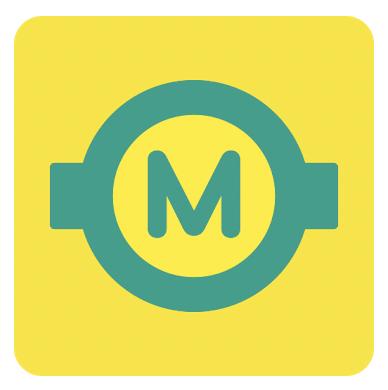 Kakao metro app logo