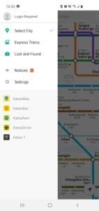 Kakao metro app - Korea public transportation tips